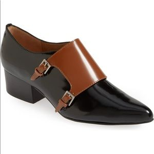 Bettye Muller Leather 'Quote' Oxford Flats, 7.5